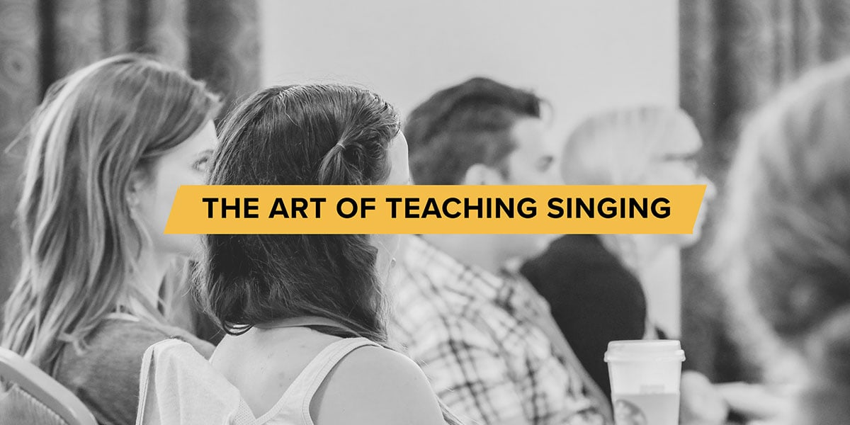 The art of teaching singing